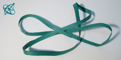 Sciensation hands-on experiment for school: Not everything has two sides ( maths, geometry, topology, Möbius strip)