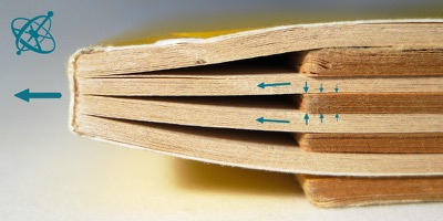 Sciensation hands-on experiment for school: Inseparable books ( physics, mechanics, friction, forces)